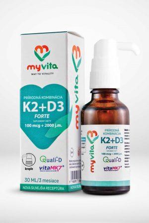 Vitamín K2 + D3 Nakupujzdravo